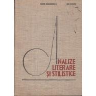 Analize literare si stilistice - Sorin Alexandrescu, Ion Rotaru