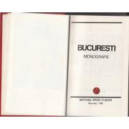 Bucuresti, monografie, contine harti - Colectiv