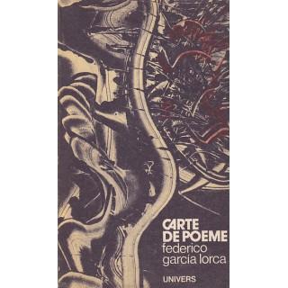 Carte de poeme - Federico Garcia Lorca