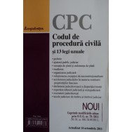 Codul de procedura civila si 13 legi uzuale - colectiv