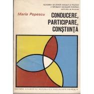 Conducere participare constiinta - Maria Popescu