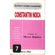 Constantin Noica comentat - Mircea Handoca