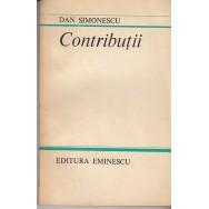 Contributii - Dan Simionescu