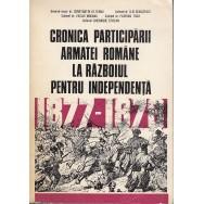 Cronica participarii armatei romane la razboiul pentru independenta - Constantin Olteanu