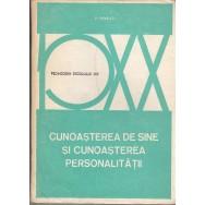 Cunoasterea de sine si cunoasterea personalitatii - V. Pavelcu