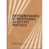 Determinarea si motivarea actiunii sociale - Colectiv