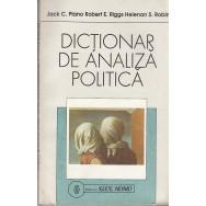 Dictionar de analiza politica - Jack C. Plano, Robert E. Riggs, Helenan S. Robin