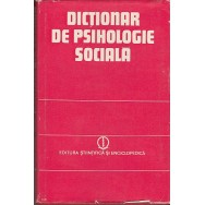 Dictionar de psihologie sociala - Colectiv