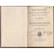 Dictionar magiar-roman pentru scoala si privati - Ion Ghetie