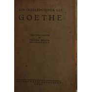 Din intelepciunea lui Goethe, trei conferinte - Traian Bratu