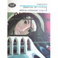 Doamna din Monza, Istoria coloanei infame - Alessandro Manzoni