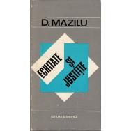 Echitate si justitie - D. Mazilu