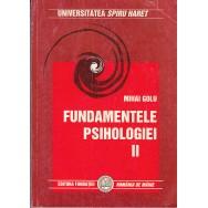 Fundamentele psihologiei, vol. II - Mihai Golu