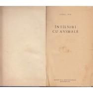 Intilniri cu animale (coperta relegata cartonata) - Ionel Pop