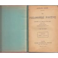La philosophie positive, tome deuxieme (lipseste ultima pagina) - Auguste Comte