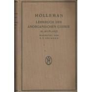 Lehrbuch der anorganischen chemie - A. F. Holleman