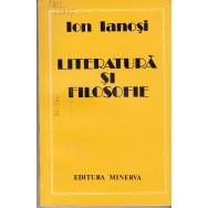 Literatura si filosofie - Ion Ianosi