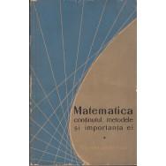 Matematica, continutul, metodele si importanta ei, vol. I, II, III - Colectiv