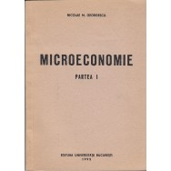 Microeconomie, partea I - Nicolae M. Georgescu