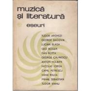 Muzica si literatura, eseuri - Arghezi, Bacovia, Blaga, Holban, Iorga, Petrescu