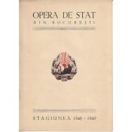 """Opera de Stat din Bucuresti 1948-1949 (COLECTIE de€"""" 20 LIBRETE) - *"""