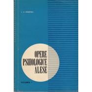 Opere psihologice alese, vol. I - L. S. Vigotski