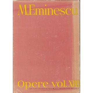 Opere, vol. III, publicistica - M. Eminescu
