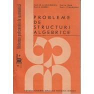 Probleme de structuri algebrice - C. Nastasescu
