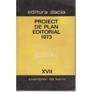 Proiect de plan editorial XVII exemplar de lucru - *