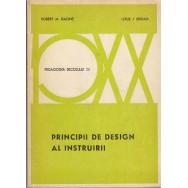 Principii de design al instruirii - Robert M. Gagne, Leslie J. Briggs