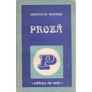 Proza - Constantin Negruzzi