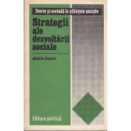 Strategii ale dezvoltarii sociale - Catalin Zamfir