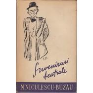 Suveniruri teatrale - N. Niculescu-Buzau